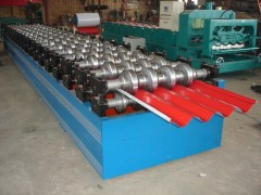 供应水波纹750型压瓦机,帝泊生产彩钢压瓦机