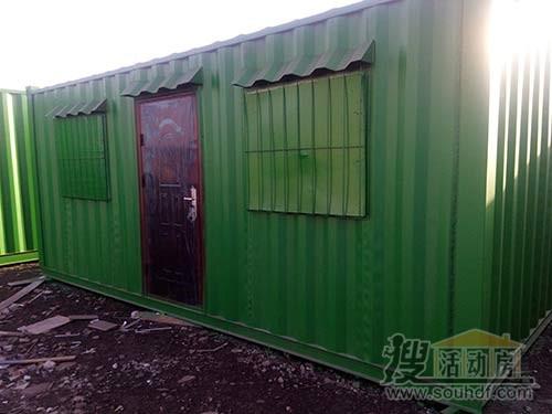 集装箱活动房焊接工人