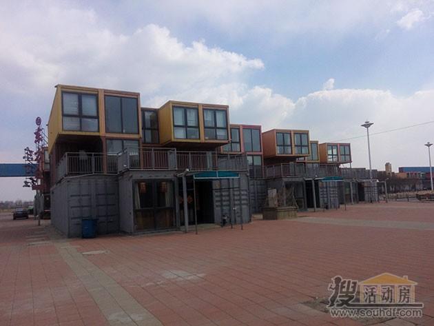 北塘集装箱酒店远景