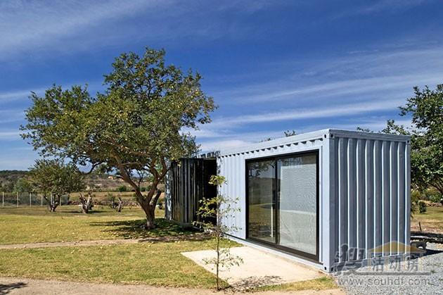 集装箱房屋虽然简单,但内部豪华