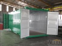 国外折叠的集装箱活动房 (6)