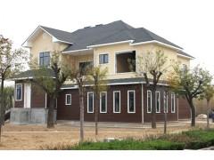 高档轻钢结构别墅