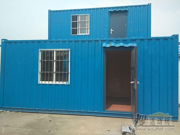 蓝色铁皮集装箱价格8000元左右