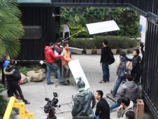 电影剧组采用石家庄集装箱房屋作为拍摄地点