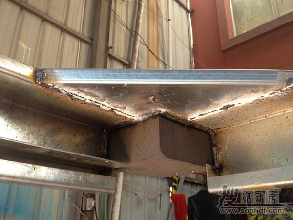 集装箱房屋焊接