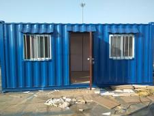 天津大港集装箱活动房屋顺利交付给客户