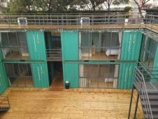 桂林集装箱宾馆欣赏-海运集装箱改装