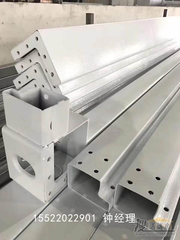 快速组装房屋的框架立柱