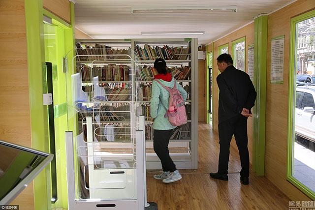 西安集装箱改装的图书馆
