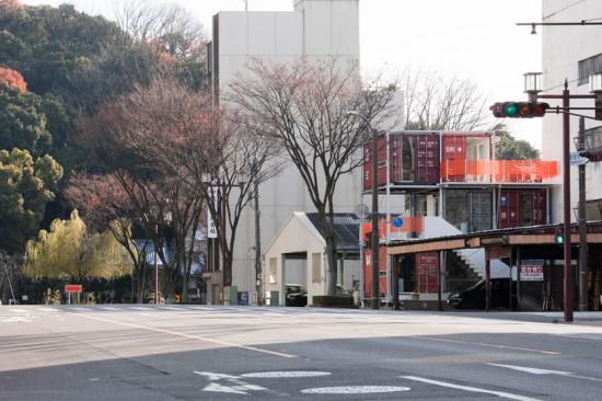 日本的集装箱建筑