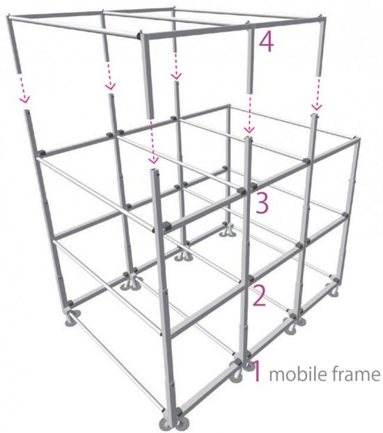集装箱建筑设计图