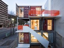 日本海运集装箱建筑改装 值得国人借鉴