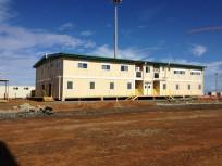 缅甸某医院采用组合箱式房住院部