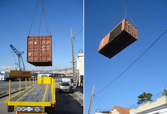 40尺的集装箱