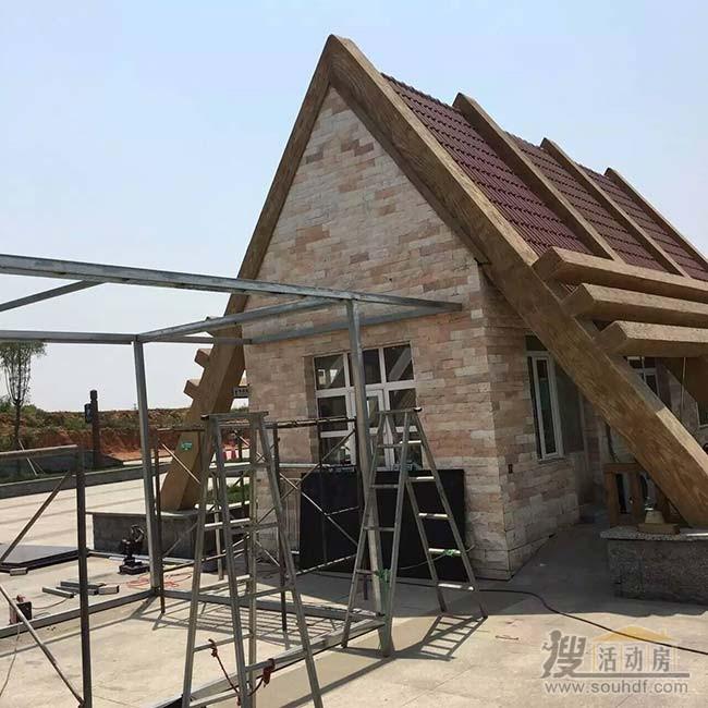 方管焊接房屋框架