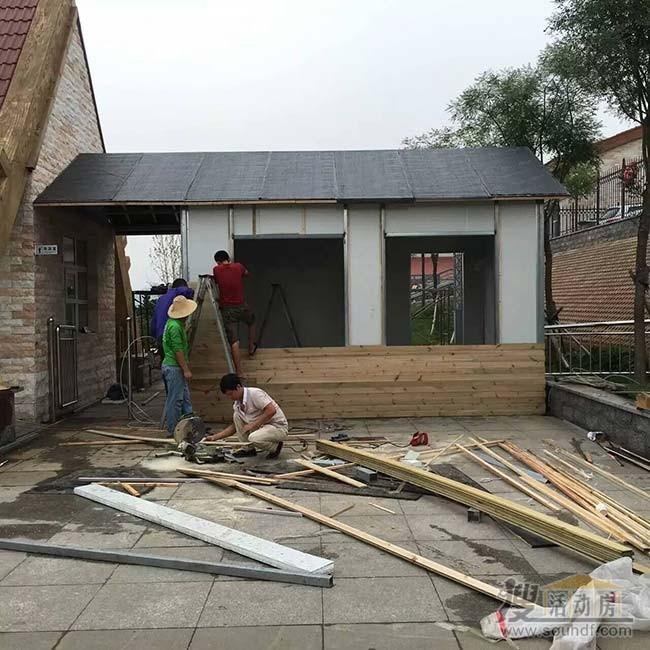 房子外部用防腐模板装修