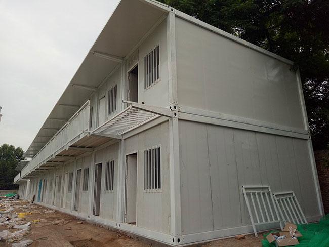 秦皇岛二层的集装箱房屋