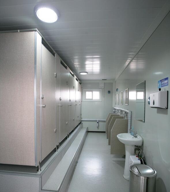 集装箱房屋改造的卫生间
