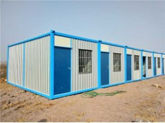 3米宽X6米波纹板 住人集装箱 2.7米高
