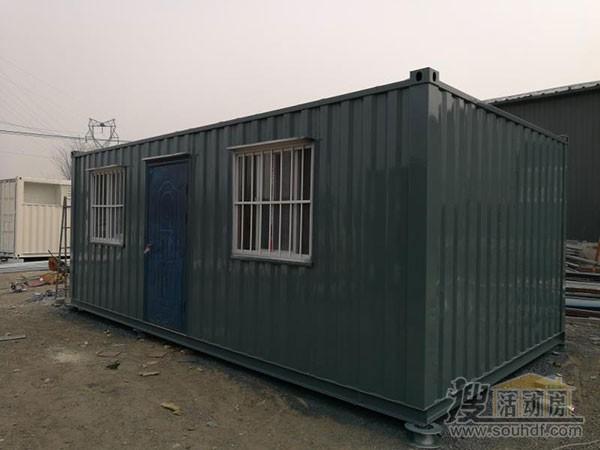 集装箱房屋定做波纹板材质