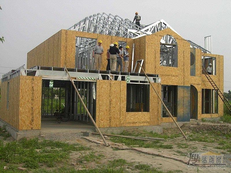 轻钢结构房屋国外用的比较多