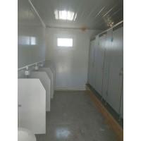 白色集装箱厕所每个28000元 适合旅游景区