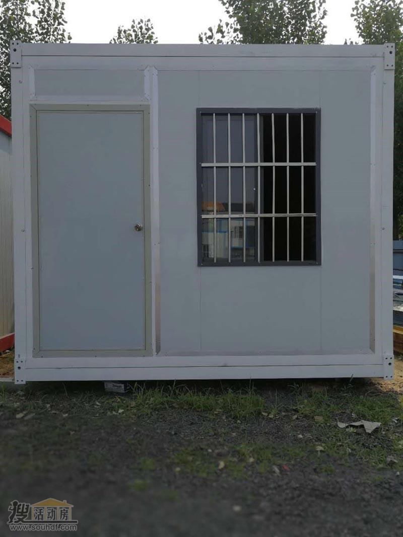 折叠活动房可以叠加二层使用