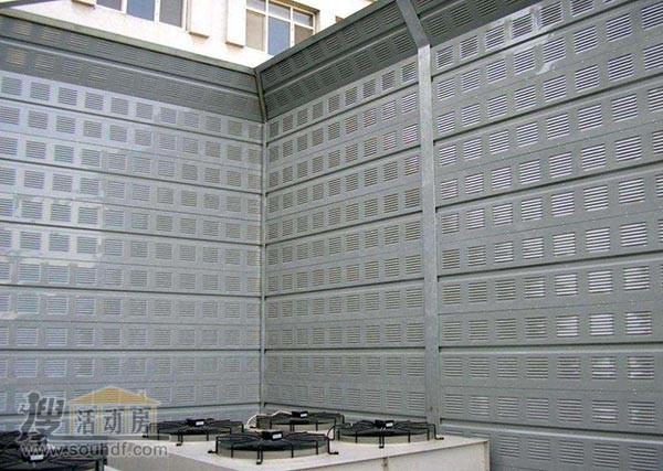 楼顶空调噪音治理