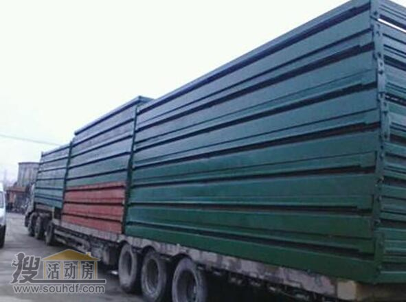 折叠集装箱运输方便 一车拉20个