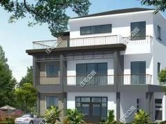 农村的三层别墅图纸 照着它建别墅不花冤枉钱