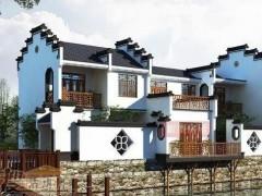 南方三层的徽派风格别墅 造价多少钱一平米