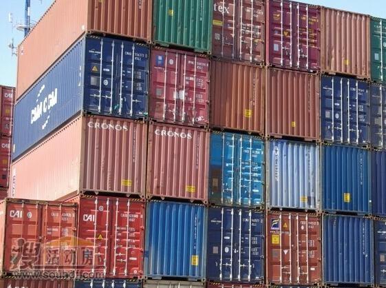 6米长海运集装箱6500-9000元不等