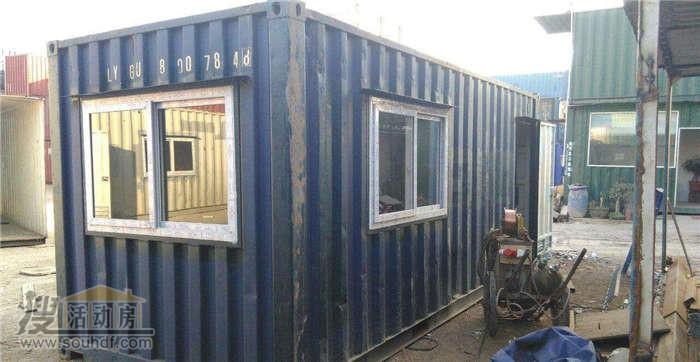 海运集装箱改成的住人集装箱房屋