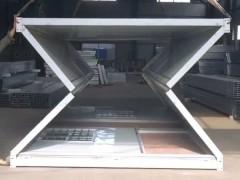 易折叠集装箱房制作方法 住人集装箱发明怎么制作【华营箱房】