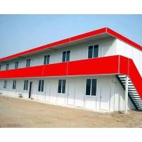 武汉T型活动房 项目部办公房2层