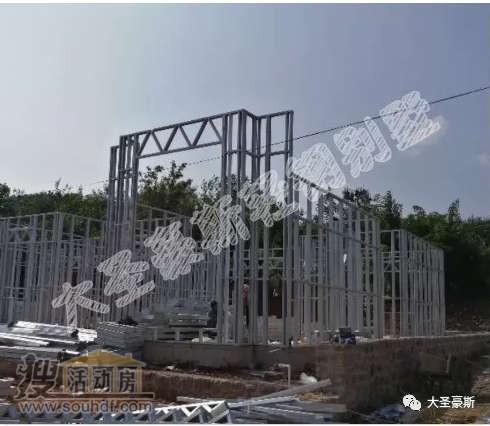 北京建二层的轻钢结构房屋