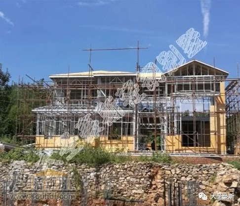 二层轻钢结构房屋