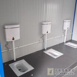 工地临时厕所 干净卫生6元一天