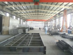 华营折叠房生产车间