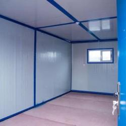 折叠房内部电灯 插座 玻镁板地板18平米