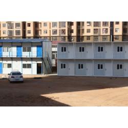 西安建筑工地折叠集装箱宿舍