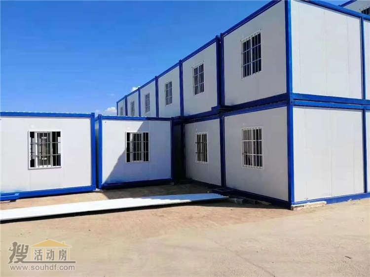 全新的集装箱房屋全部采用防火材料