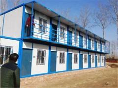 武汉住人集装箱房屋20出租 1天进场 项目经理满意