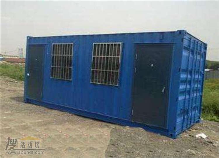 普通的铁皮集装箱
