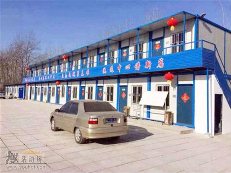 二层的集装箱宿舍杭州西湖区