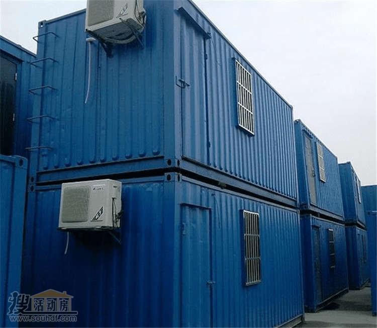 二层瓦楞板集装箱房屋