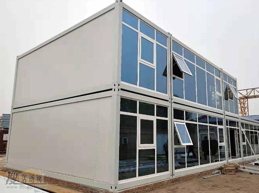 武汉火神山 雷神山建医院采用的打包箱房屋