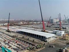 武汉火神山医院采用打包箱集装箱活动房 一星期内完工
