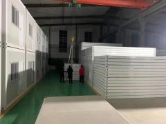 快速组装的房屋 打包箱式房7天建好一座医院