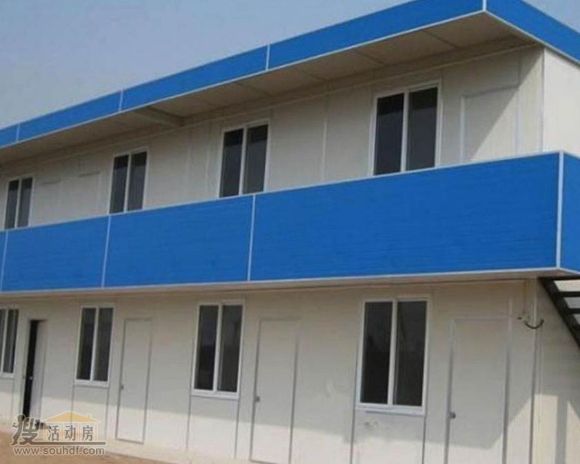 二手双层彩钢房价格100元每平米